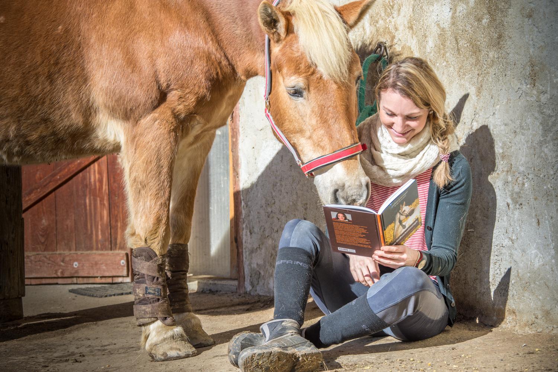 Wir haben für dich einen Blick ins Buch Stoffwechselstrategie geworfen und das Thema Hufrehe herausgearbeitet. Foto: Haflinger Austria