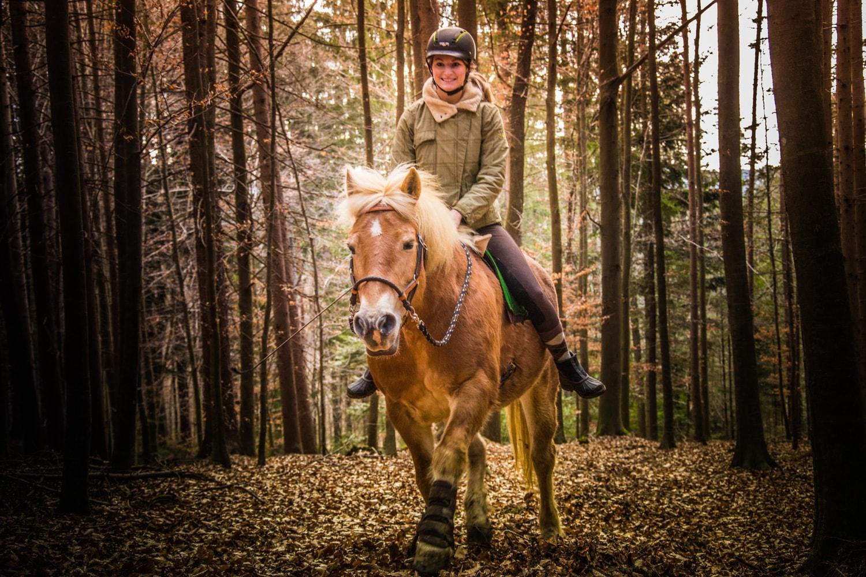 Ein Gefühl wie ohne Sattel - nur besser! Foto: Haflinger Austria