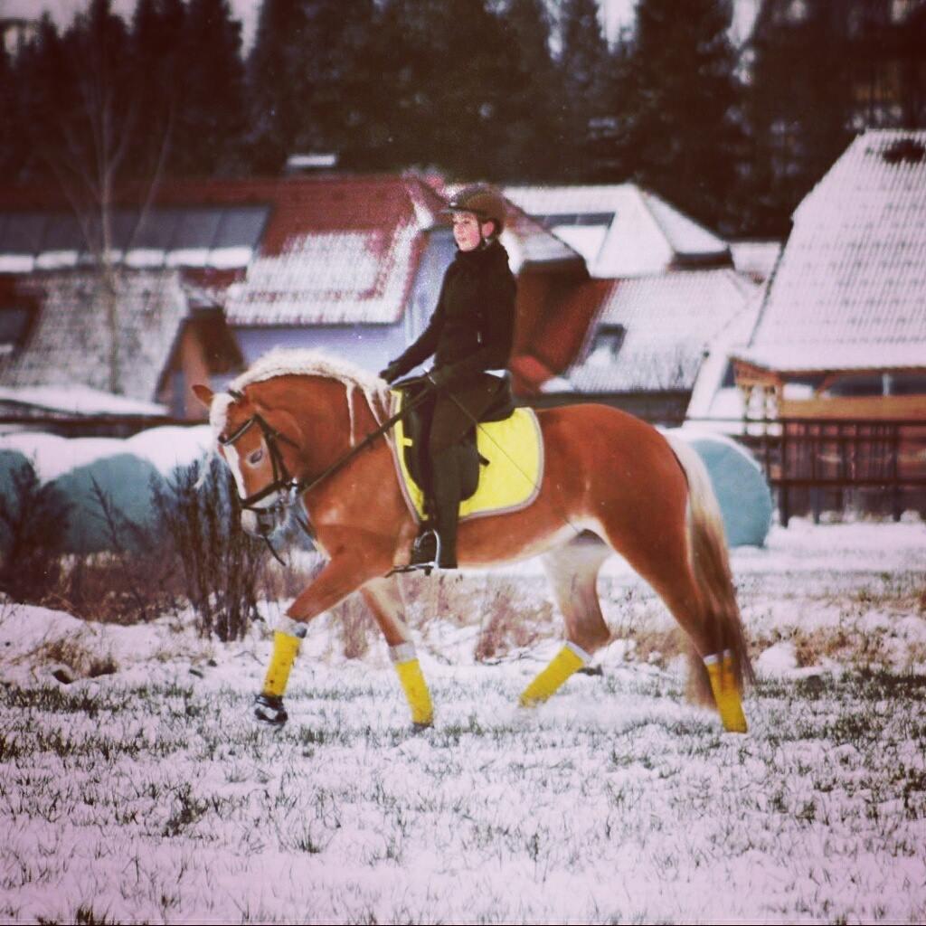Nicole und Doretta trainieren für die erste gemeinsame Turniersaison. Foto: Nicole N.