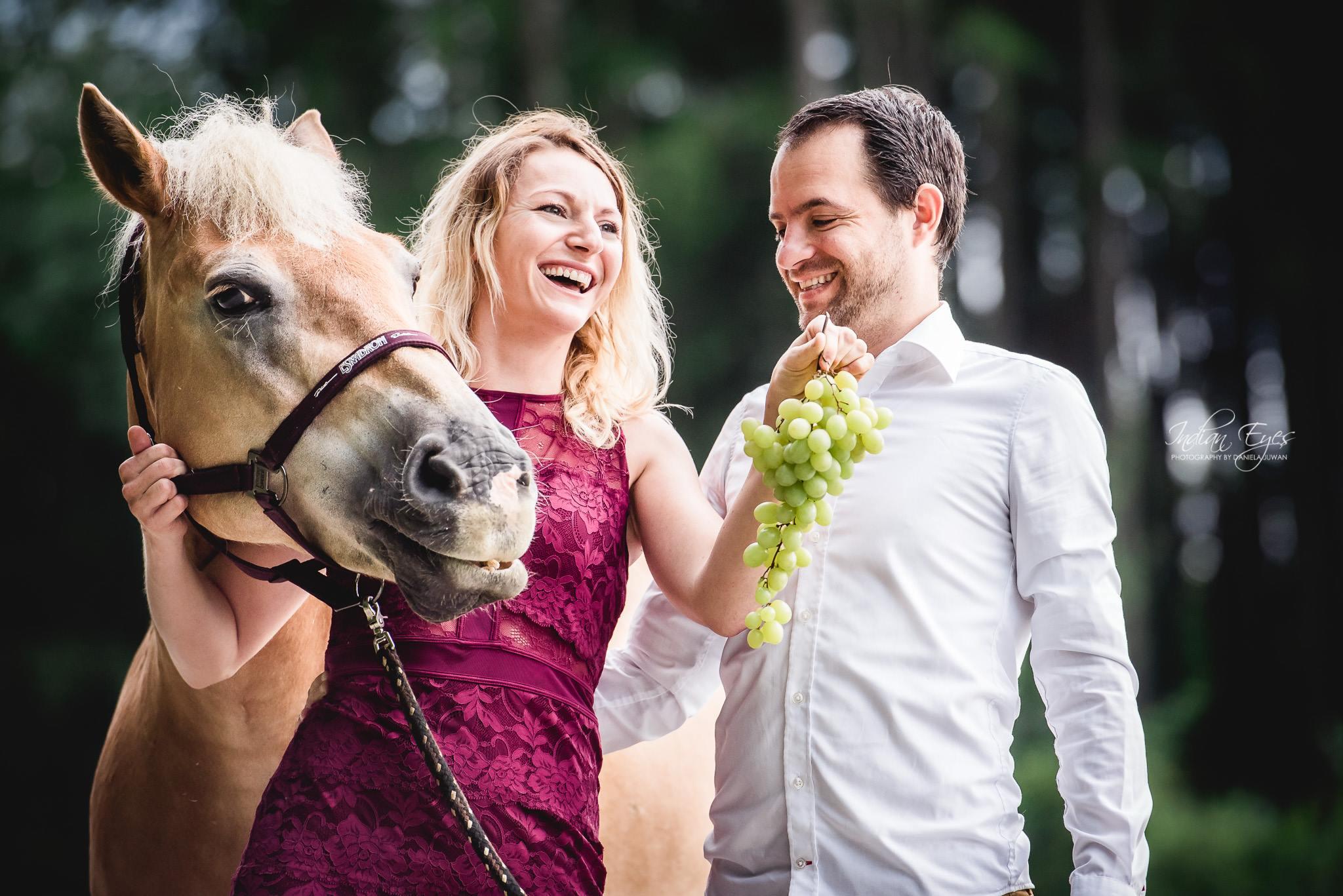 Im Mai wurde es romantisch. Foto: Haflinger Austria